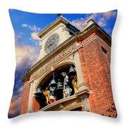 Sir John Bennett Sweet Shop Greenfield Village Dearborn Michigan Throw Pillow