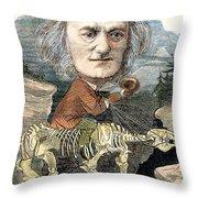 Sir Richard Owen (1804-1892) Throw Pillow
