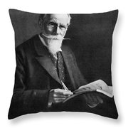 Sir William Crookes (1832-1919) Throw Pillow