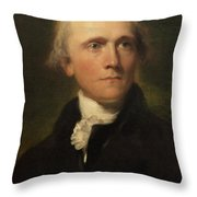 Sir William Grant Throw Pillow by Thomas Lawrence