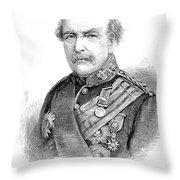 Sir William Williams  (1800-1883) Throw Pillow