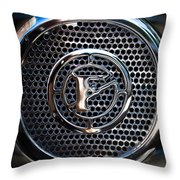Siren Fire Engine Number Three Throw Pillow