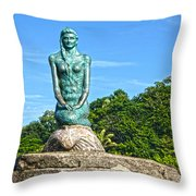 Sirena Playa Esterillos Oeste Costa Rica II  Throw Pillow by Michelle Wiarda