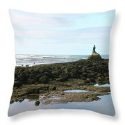 Sirena Playa Esterillos Oeste Costa Rica Throw Pillow