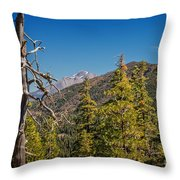 Siskiyous And Shasta Throw Pillow