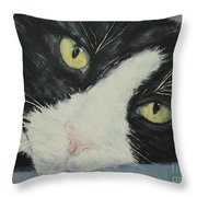 Sissi The Cat 1 Throw Pillow