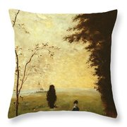 Sister Anna Throw Pillow