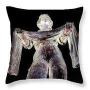 Sister Soldier Throw Pillow