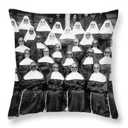 Sisters Of The Holy Family Throw Pillow