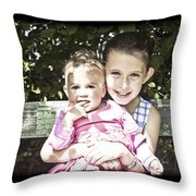 Sisters V2 Throw Pillow
