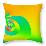 Sisyphus Throw Pillow
