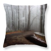 Sit And Enjoy The Nature Throw Pillow