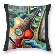 Sit Down Play Throw Pillow