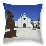 Sitges Spain Throw Pillow