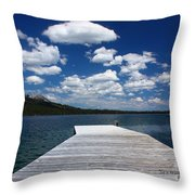 Sit'n Wasting Time Away Throw Pillow by Patrick Witz