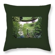 Sitting Area Throw Pillow
