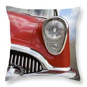 Sitting Pretty - Buick Throw Pillow
