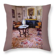 Sitting Room Throw Pillow