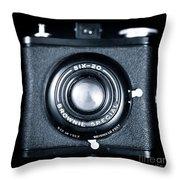 Six-20 Throw Pillow by John Rizzuto