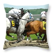 Six And Four Throw Pillow