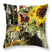 Six Buxadance Throw Pillow