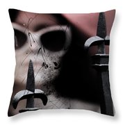 Six Dressed Two Nine  Throw Pillow