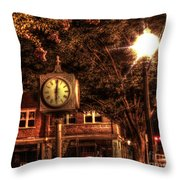 Six Oh One Throw Pillow