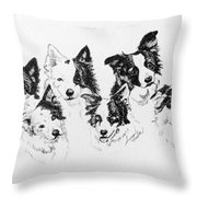 Six Packed Throw Pillow