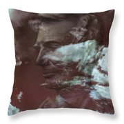 Sixteenth Throw Pillow