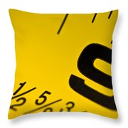 Size Matters Throw Pillow by Charles Dobbs