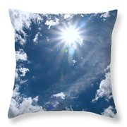 Sizzle Summer Throw Pillow