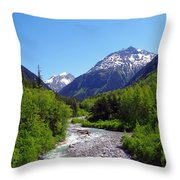 Skagway 5 Throw Pillow