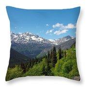 Skagway 7 Throw Pillow