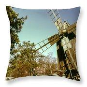 Skansen Outdoor Museum Throw Pillow