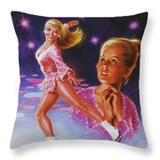 Skaters Dream Throw Pillow
