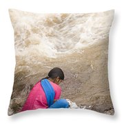 Skc 2616 Clothes Washing Source Throw Pillow