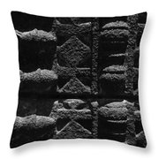 Skc 3300 Ancient Wall Art Throw Pillow