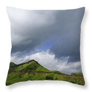Skc 3548 Over The Western Ghats Throw Pillow