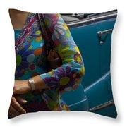 Skc 4111 The Vintage Throw Pillow