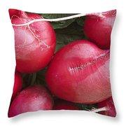 Skc 4682 Red Radish Throw Pillow