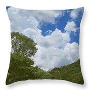Skies Of Minas Gerais 15 Throw Pillow