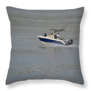 Skimming The Water Throw Pillow