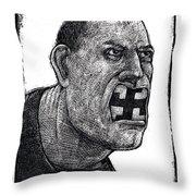 Skinhead-2 Throw Pillow