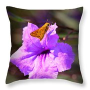 Skip It Insect Art Throw Pillow
