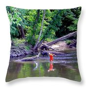 Skipping Stones Throw Pillow