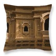 Skn 1310 Elegant Architecture  Throw Pillow