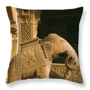 Skn 1312 Welcome Mascot Throw Pillow