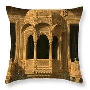 Skn 1320 Carving Splendor Throw Pillow