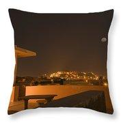 Skn 1348 Golden Illumination Throw Pillow