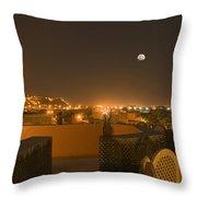 Skn 1351 Illumination At The Horizon Throw Pillow